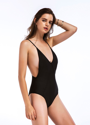 black one piece swimsuits for women