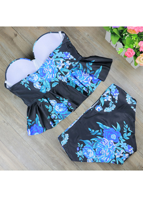 Floral Printing Swimwear for women