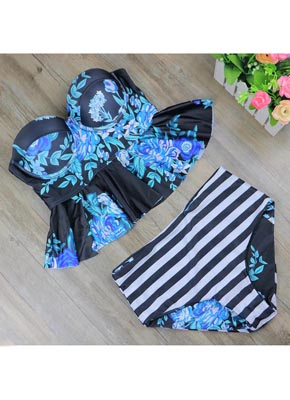 Hot sale Floral Printing Bathing suit